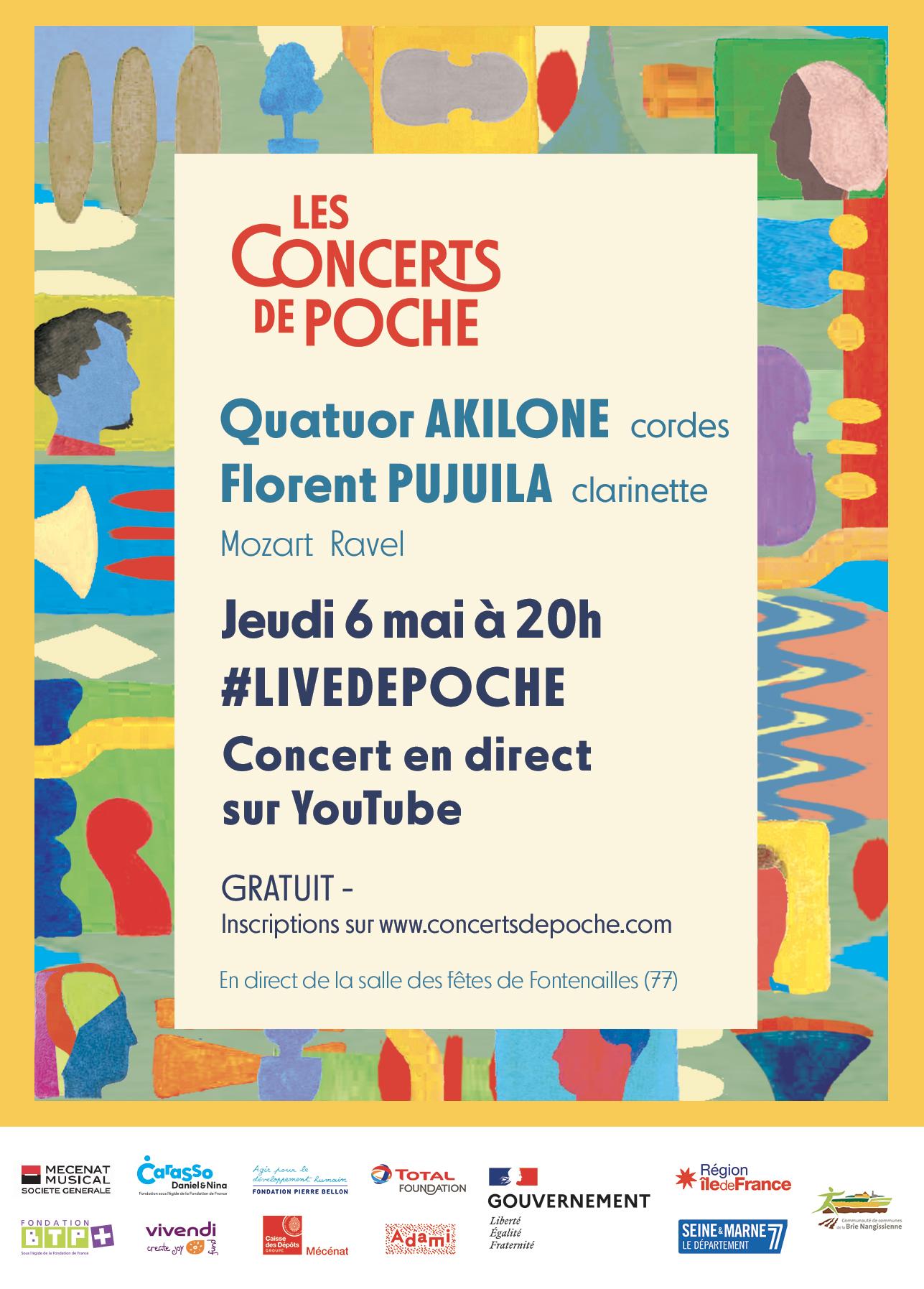 Concert de poche 6 mai - Affiche