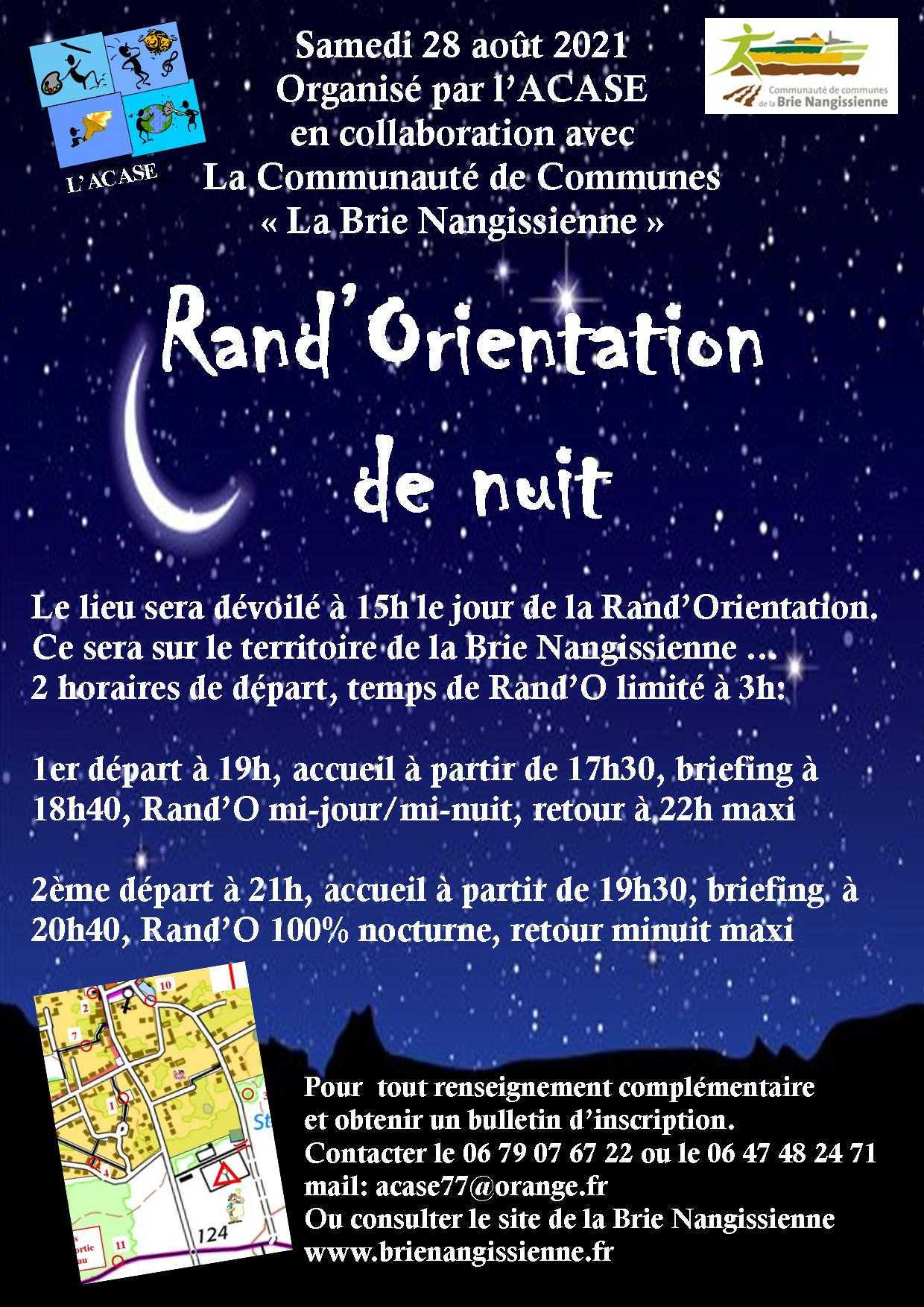 Rand'orientation 2021