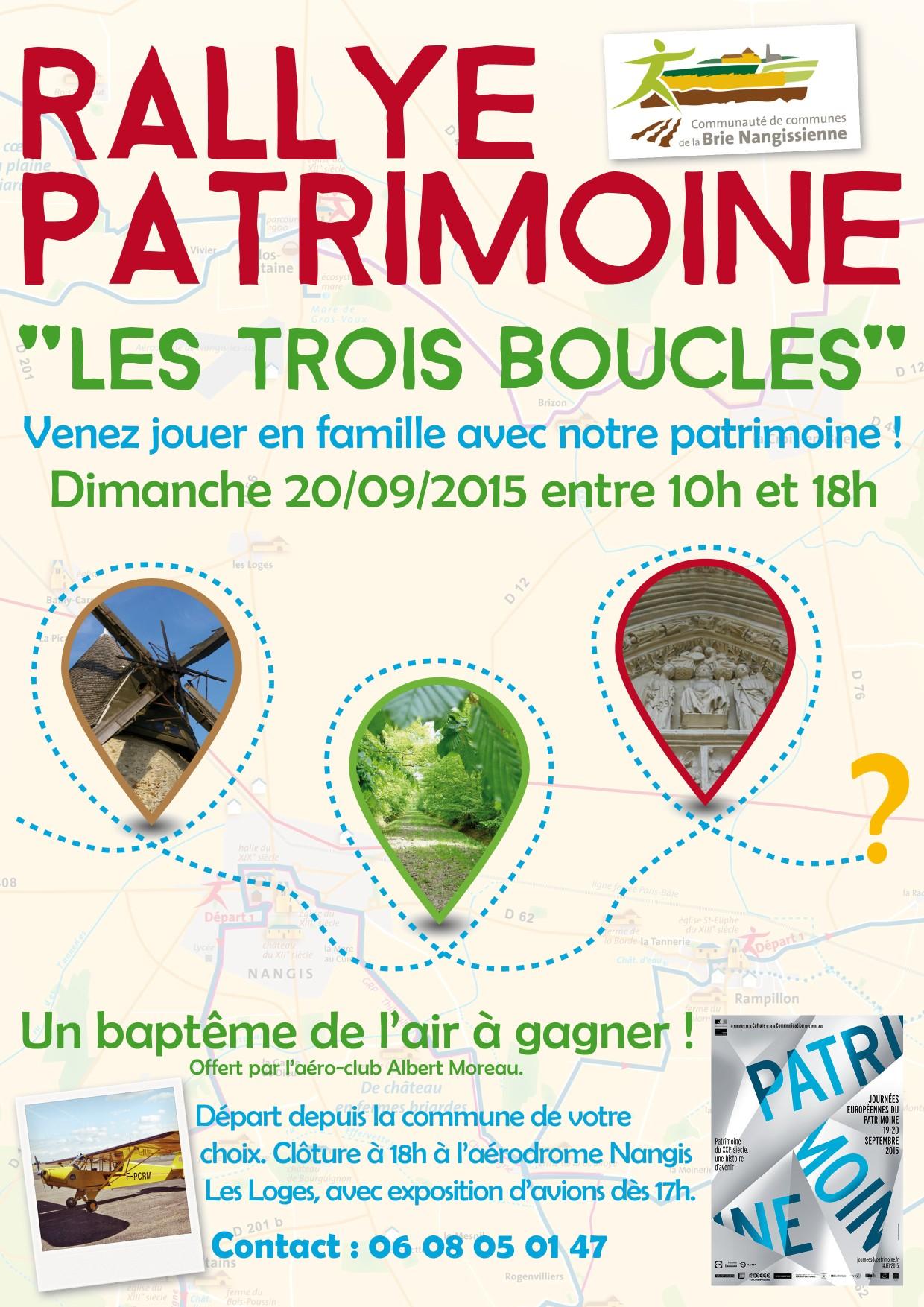 Affiche Rallye 2015