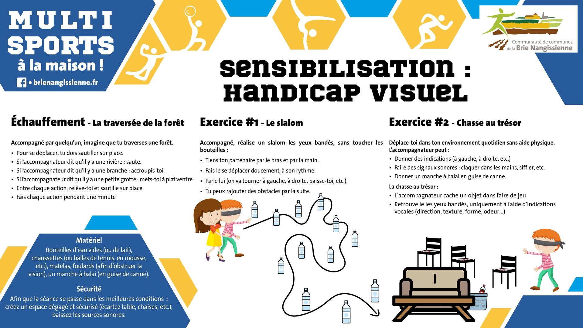 Activité #15 Sensibilisation handicap visuel 1 - FICHE