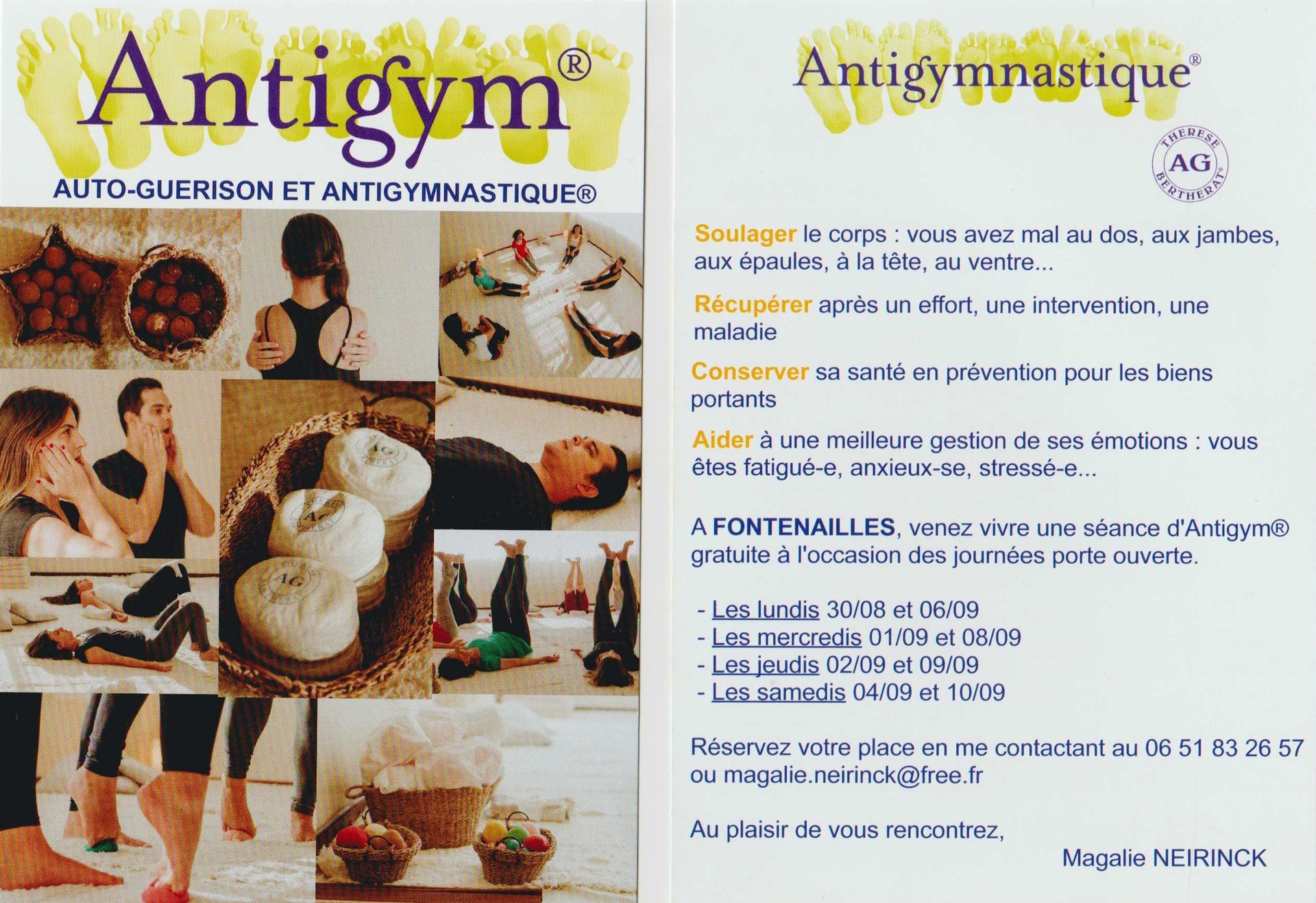 Flyer Antigym®
