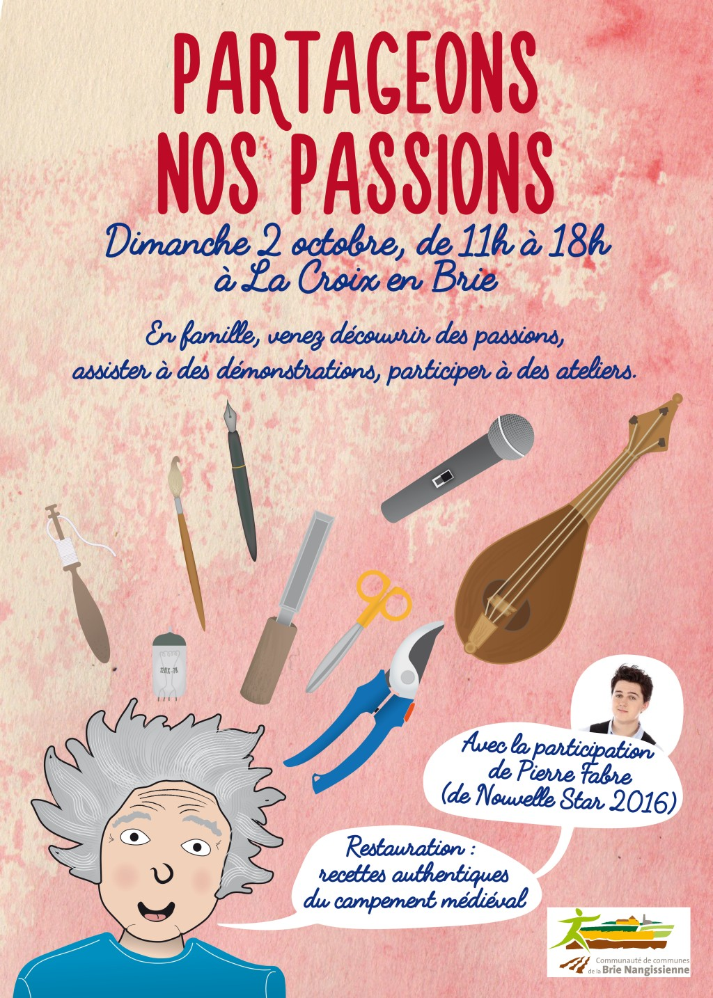 Partageons nos passions - Affiche
