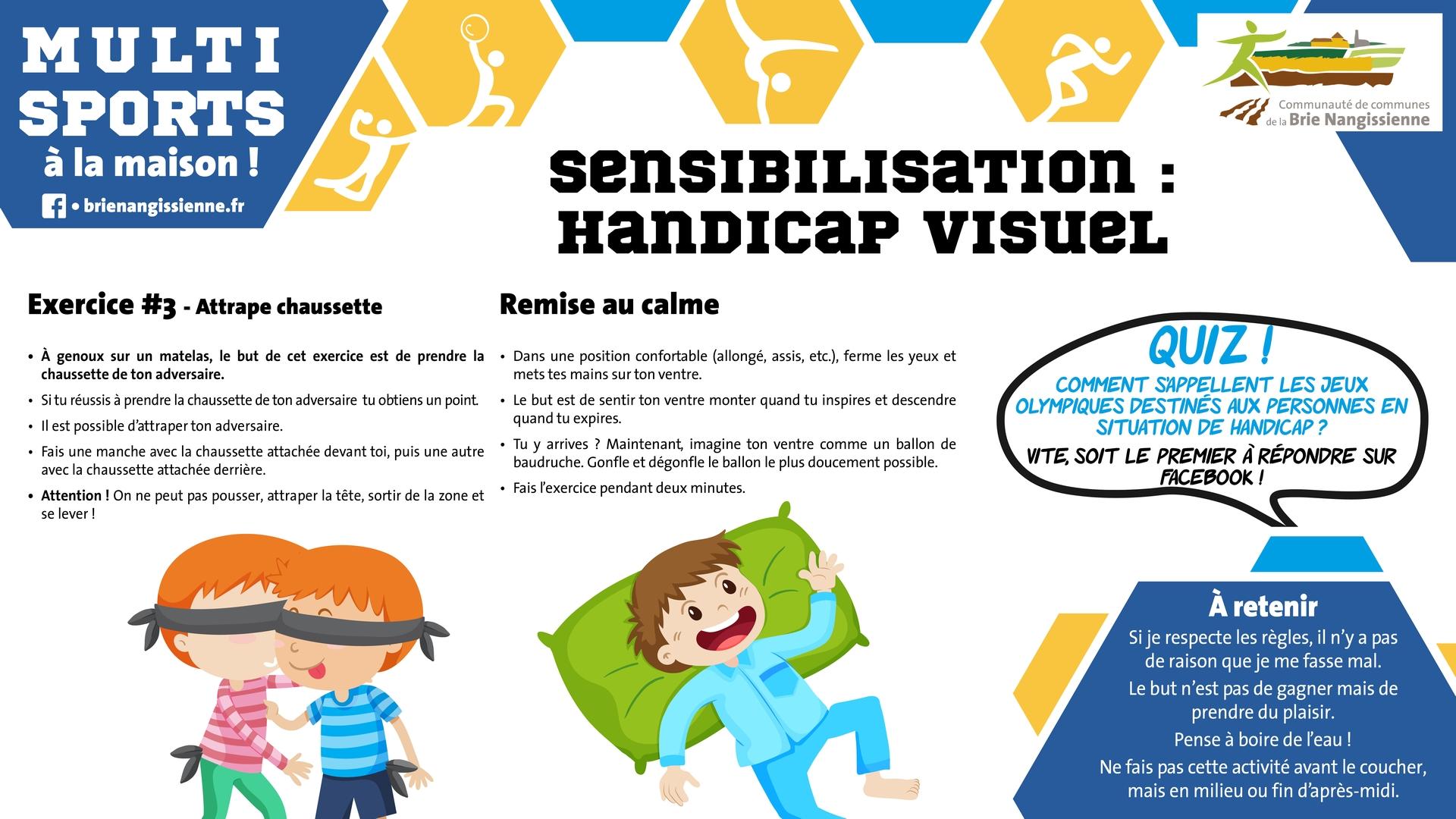 Activité #15 Sensibilisation handicap visuel 2 - FICHE
